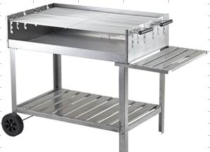 Big Cart Trolley BBQ grill