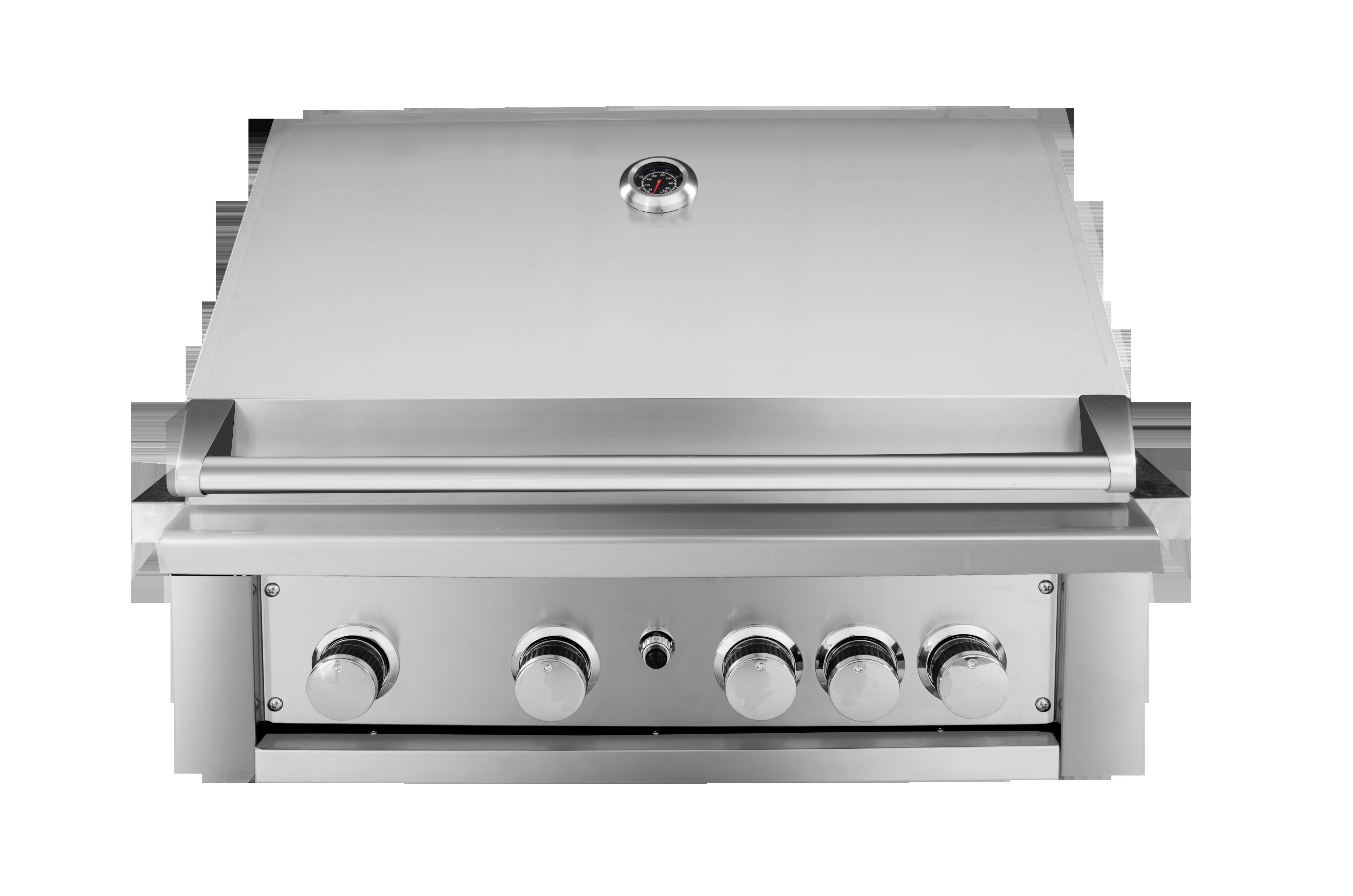 deluxe built-in gas grill