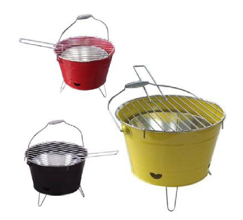 Bucket charcoal grill