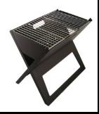X shape foldable BBQ Grill