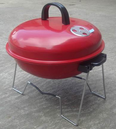 new portable  charcoal grill