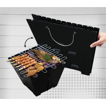 Promotional foldable bbq grill