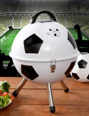Soccer BBQ grill for promotion