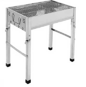 New stainless steel square BBQ grills
