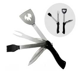 new 5 in 1 foldable BBQ multi-tool