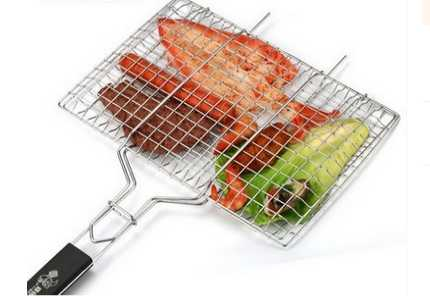 430 s.s BBQ Grilling basket/net perfect for Grilling