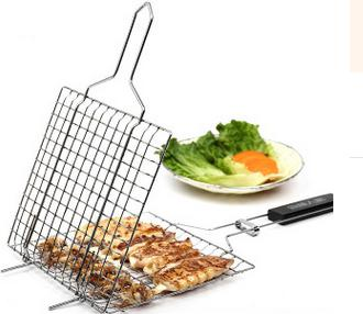BBQ basket perfect for outdoor cooking