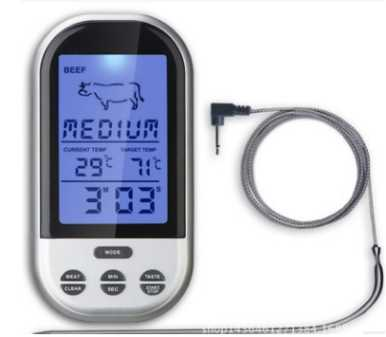 Smart new BBQ cooking food thermometer