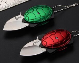 Tortoise foldable mini pocket knife for gift promotion