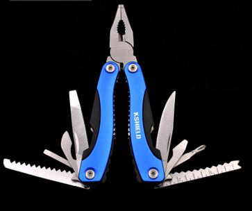 Multi Function outdoor camping Pliers Knife Screwdriver Tools