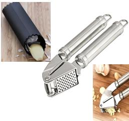 Garlic/Ginger press& peeler set