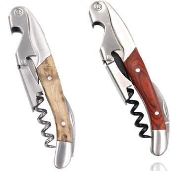 Deluxe high quality  waiters corkscrew wine bottle opener