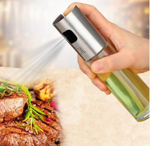 Glass Olive Oil Vinegar Cooking Seasoning  Spray Pump Fine Mist Olive Pump Spray