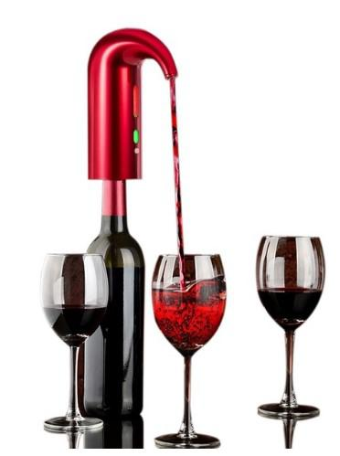 Electric Smart Wine Aerator Fast Decanter Magic Aerator Pourer Decanter Auto Decanter Dispenser
