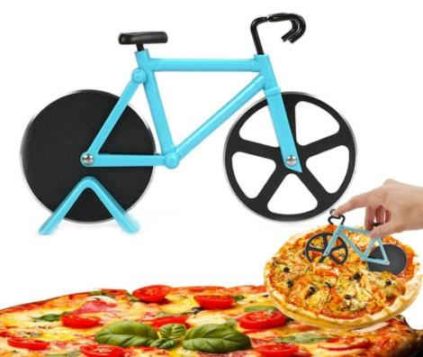 Bicycle/bike Pizza Cutter Stainless Steel Bike Pizza Cutter Creative Cooking Tools