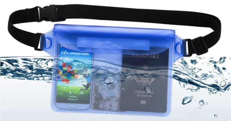water/dust/sand proof underwater Dry bag phone cover protective bag
