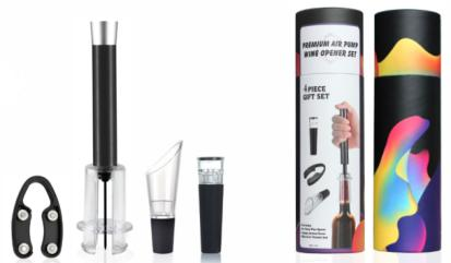4 PCS WINE TOOL SET ACCESSORIES KIT