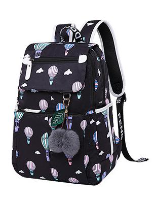 fashion school travel backpeck bag